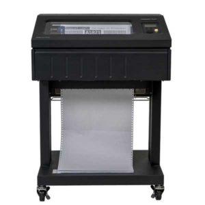 Máy in Printronix P8000 Open Pedestal front